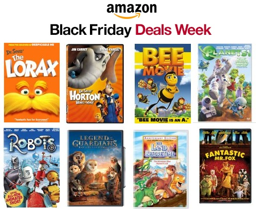 Amazon Black Friday Deals Week = Great Deals on Kids Movies | Smart ...