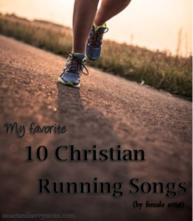 10 christian running songs by female artist