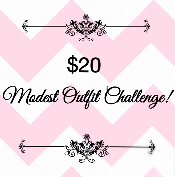 $20 modest outfit challenge