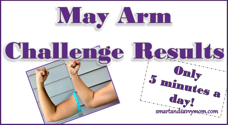 smartandsavvymom Free Printable May 2015 arm challenge results