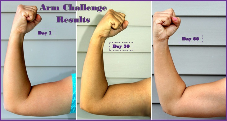 smartandsavvymom printable arm challenge results for april and may