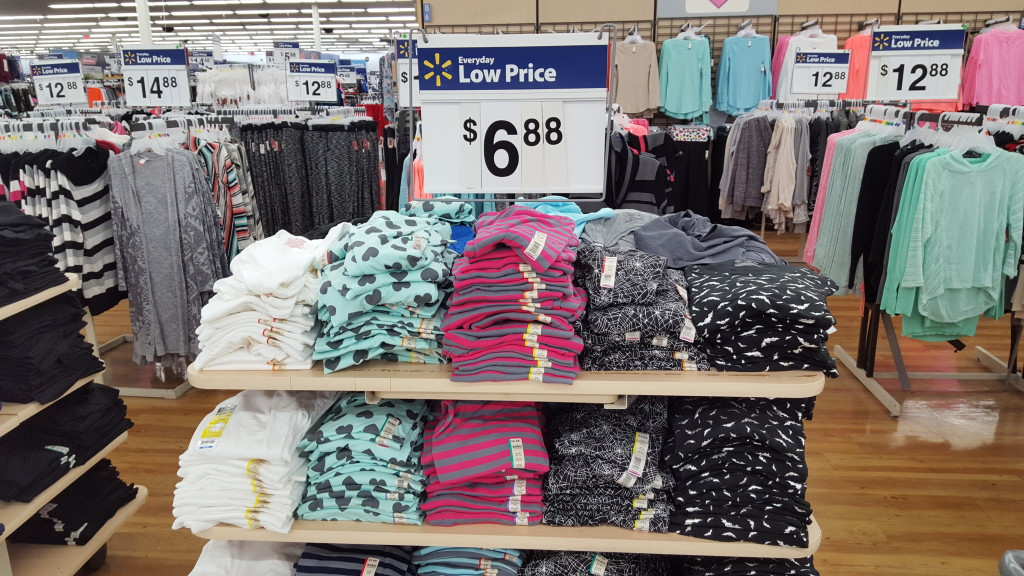 light blue long sleeve top with gray heart pattern - fav fall fashion finds from walmart 2015