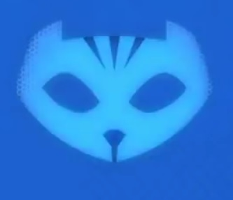 catboy symbol from pj masks for diy halloween costume.