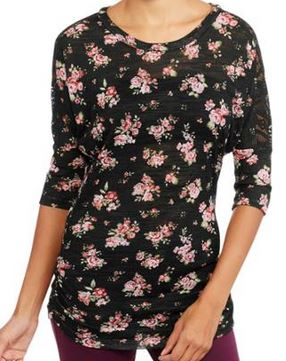 floral and lace dolman top fav fab fashion tops from walmart 2015