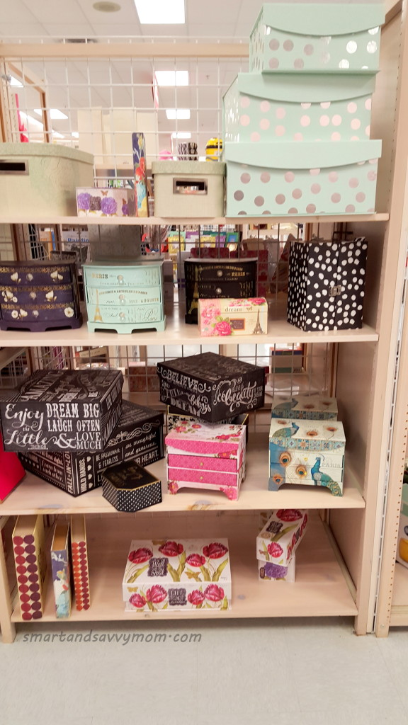 storage containers at Burke's outlet; shop with me