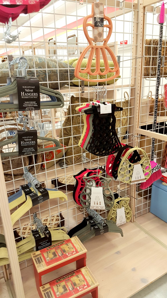 cute hangers and clothing storage; burke's outlet; shop with me