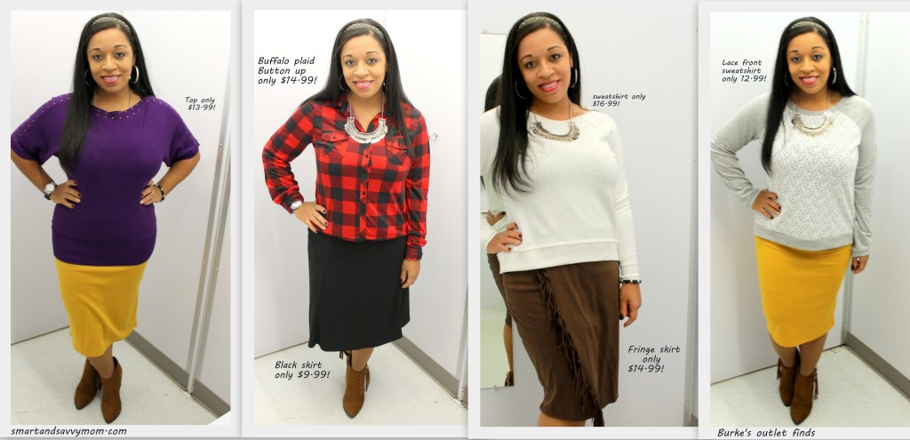 Burke's outlet clothing finds; shop with me