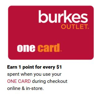 burkes one card
