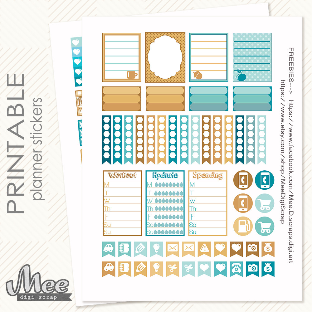 november erin condren inexpensive pritnable stickers from etsy