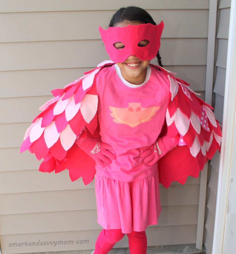diy owlette costume how to