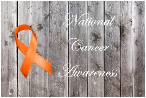 national cancer awareness day with leukemia ribbon