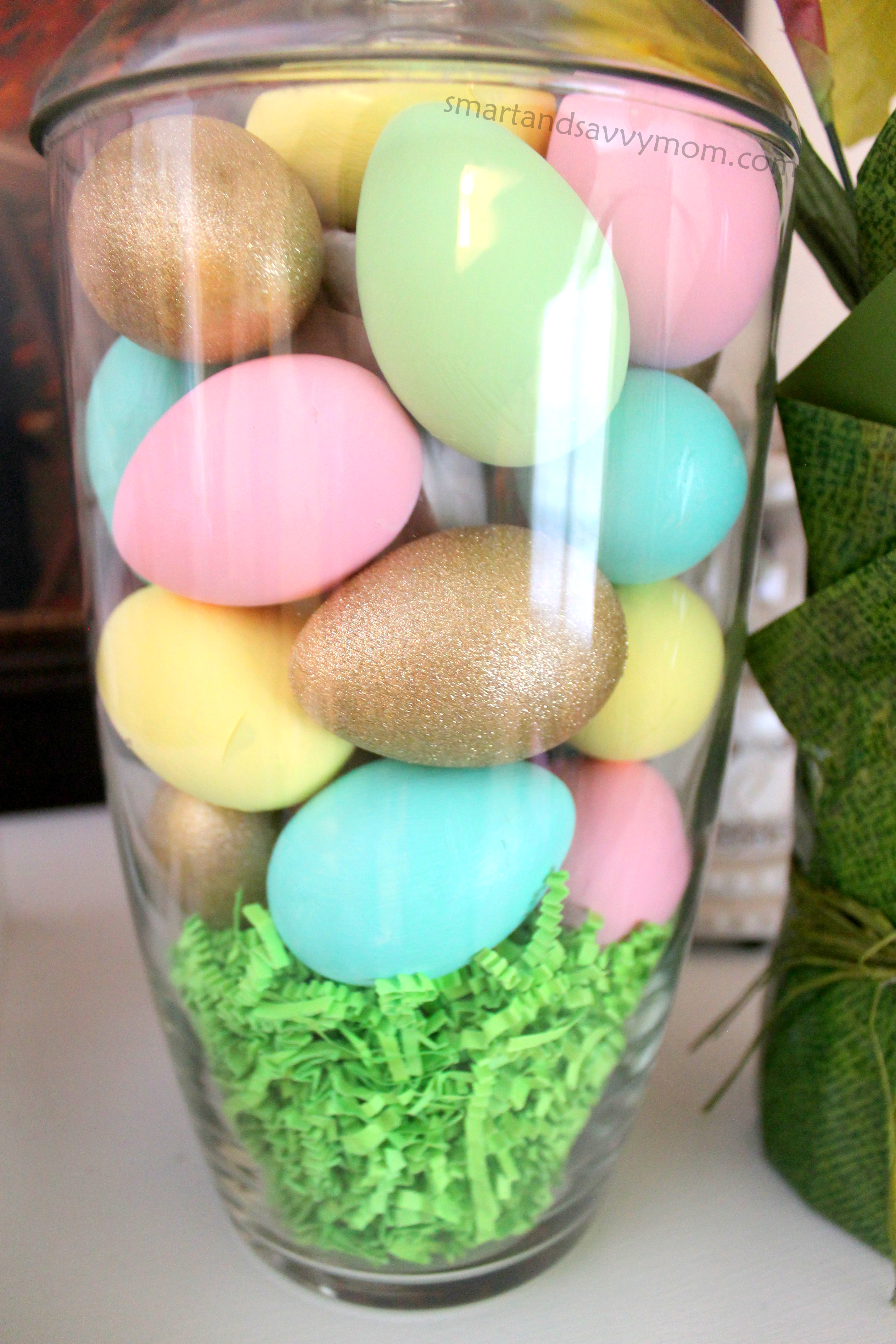 Diy easter eggs smart and savvy mom hand painted easter eggs do it yourself easter egg decoration solutioingenieria Images