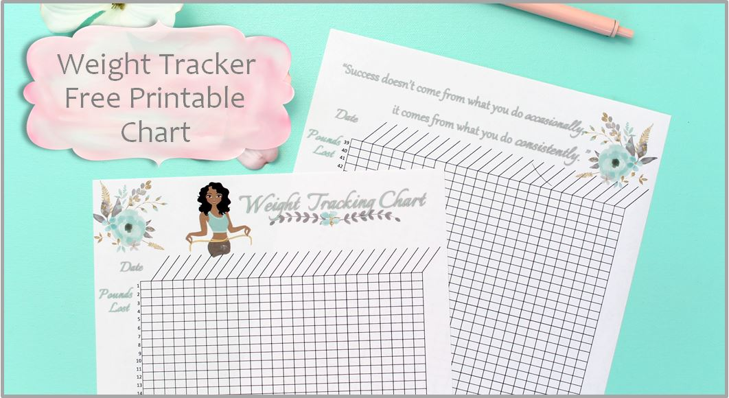 Weight Tracking Chart Free Printable Worksheet Smart And Savvy Mom